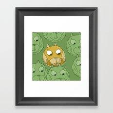 Dog Balls Framed Art Print