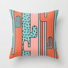 EL CACTO (PRINT) Throw Pillow