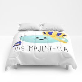 His Majest-tea Comforters