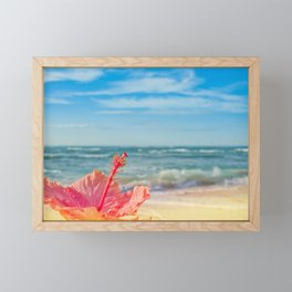 peace love and aloha Framed Mini Art Print