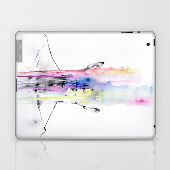 All my art is on you but you still don't hear me Laptop & iPad Skin