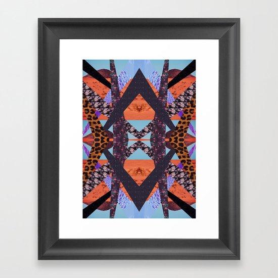 VISIONARY ENERGY Framed Art Print