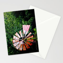 Country Windmill Stationery Cards
