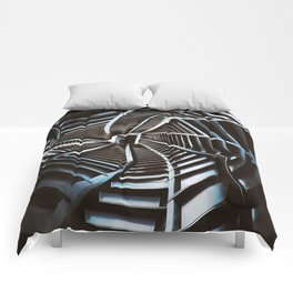 Twisted Cyberpunk Tunnel Comforters