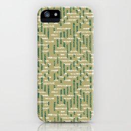 Tribal Maze iPhone Case