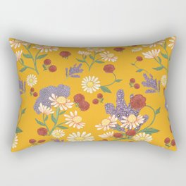 Jubilee in Sweet Potato Rectangular Pillow