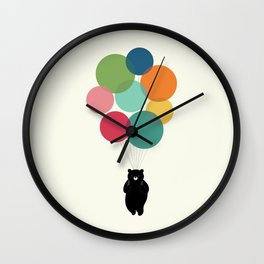 Happy Landing Wall Clock