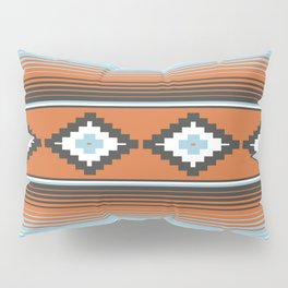 Modern Mexican Serape in Technicolor Pillow Sham
