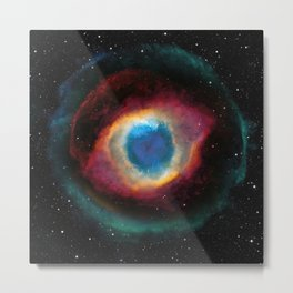 Helix (Eye of God) Nebula Metal Print