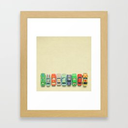 Get Set Go Framed Art Print