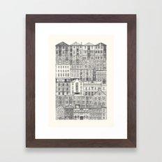 Crowded #3 'Salamanca' Framed Art Print