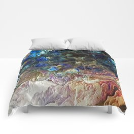 Currents 1 (Abstract Dachshund) Comforters