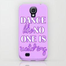 Dance Like No One is Watching - Purple Galaxy S4 Slim Case