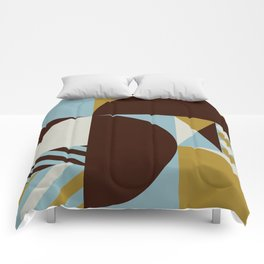Abstract Composition 528 Comforters