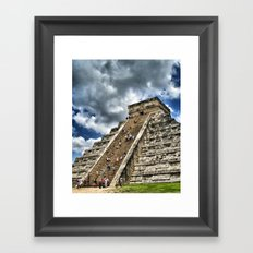 Messico e Nuvole Framed Art Print