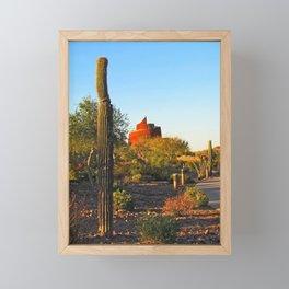 The Star Tower Framed Mini Art Print