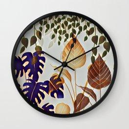 A Quiet Corner Wall Clock