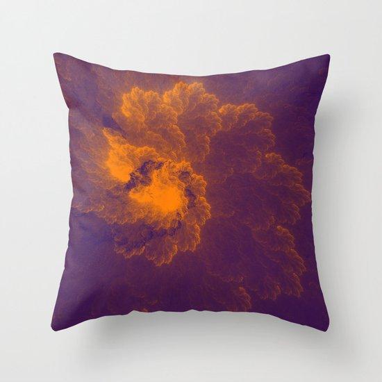 Fractal 8 Throw Pillow