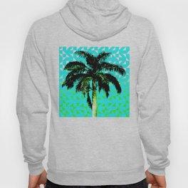 Palm Tree (Blue Green) Hoody