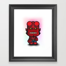 Devil Boy Framed Art Print