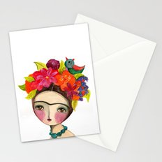 Frida And The Bird In Her Hair Stationery Cards