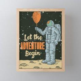 Let the Adventure begin Framed Mini Art Print