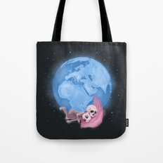 Lost in a Space / Homeckly Tote Bag