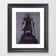 Fus Ro Dah. Framed Art Print