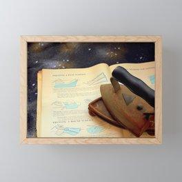 Gone To Press Framed Mini Art Print