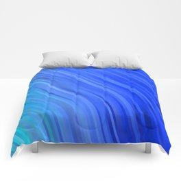 stripes wave pattern 1 c80v Comforters
