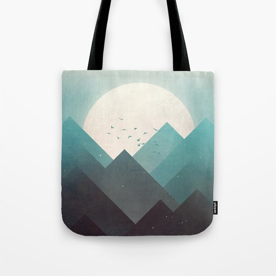 Ice Lands Tote Bag
