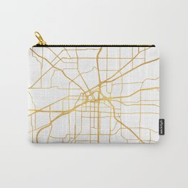 FORT WORTH CITY STREET MAP ART Carry-All Pouch