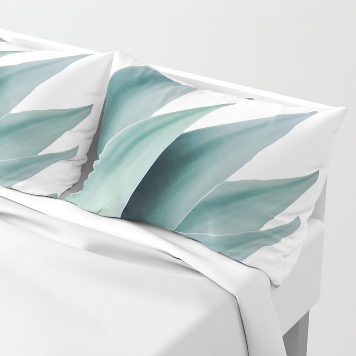 Agave flare II Pillow Sham