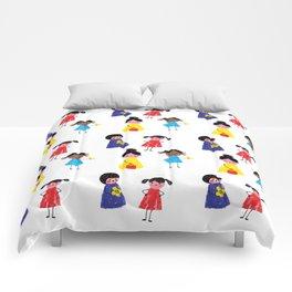 Little girls pattern Comforters