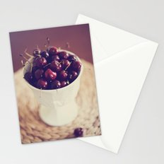 life's a bowl of cherries Stationery Cards