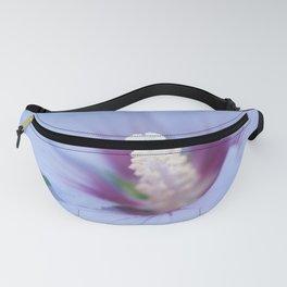 Soft Purple Hibiscus Flower #1 #art #society6 Fanny Pack