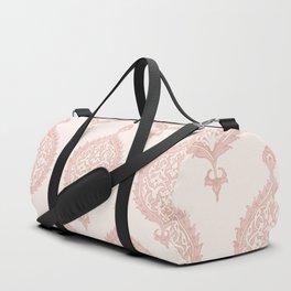 Edana Medallion in Pink Duffle Bag