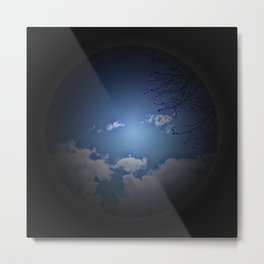 blue sky - born Metal Print