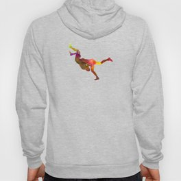 Wrestlers wrestling men 02 in watercolor Hoody