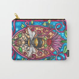 Bee Royalty Carry-All Pouch