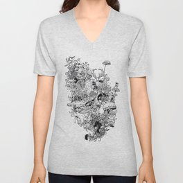 Growth Unisex V-Neck