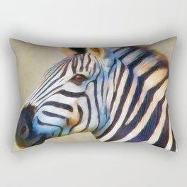 THE ZEBRA Rectangular Pillow