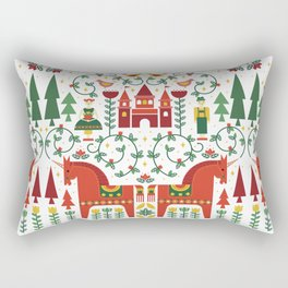 Scandinavian Inspired Fairytale Rectangular Pillow
