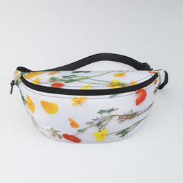 California Poppy Party Fanny Pack
