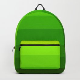 Green Ombre Stripes Backpack