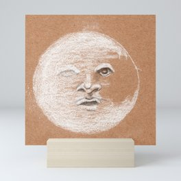 Mister Moon Mini Art Print