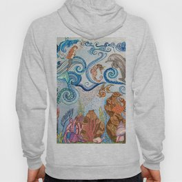 Ocean Zentangle Hoody