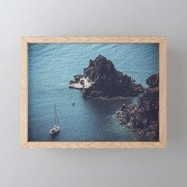 Santorini, Greece 25 Framed Mini Art Print
