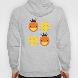 Dotty Pineapples II - Singapore Tropical Fruits Series Hoody