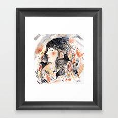 Crows & I Framed Art Print